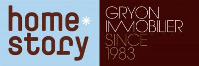 Gryon Immobilier & Homestory logo