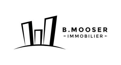 B. Mooser Immobilier logo