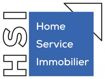 HSI Home Service Immobilier. logo