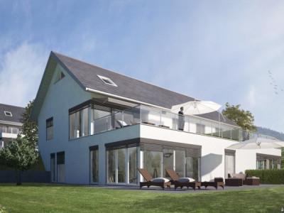 Promotion de quatre villas de trois superbes appartements à Arzier image 1