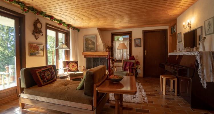 Gryon Immo vous propose un spacieux 2 pièces au rez-de-chaussée avec belle terrasse sud image 2
