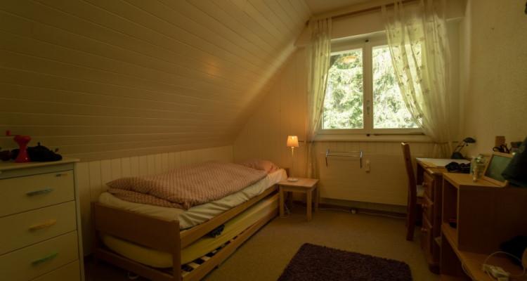 Gryon Immo vous propose un spacieux 4,5 pièces en duplex, proche de la nature, magnifique vue image 7