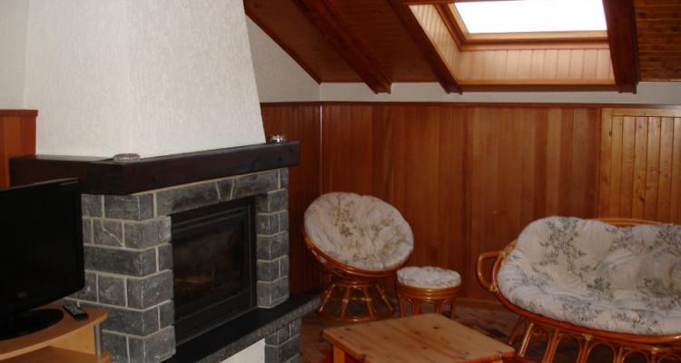 Bel attique  meublé de 3/5p / 2chambres / 1 SDB / 1 beau jardin image 5