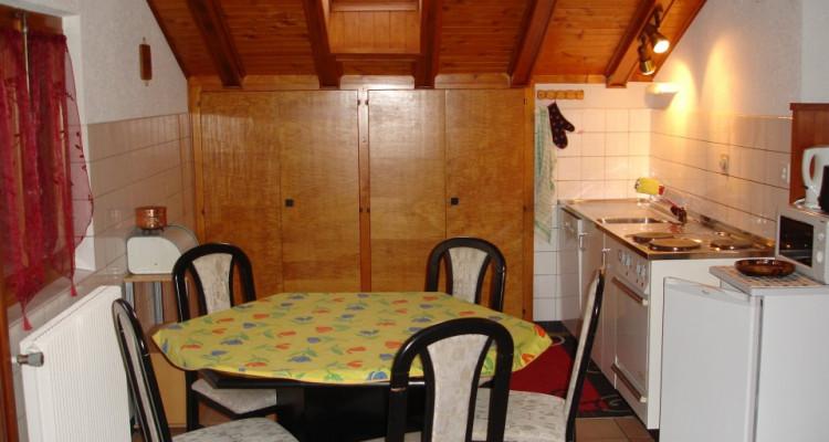 Bel attique  meublé de 3/5p / 2chambres / 1 SDB / 1 beau jardin image 7