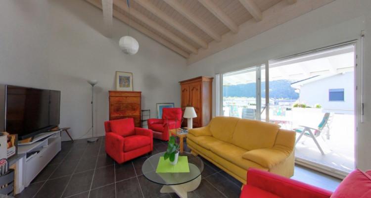 Magnifique attique 4,5p // 3 chambres // Terrasse - Vue Dents du Midi image 3
