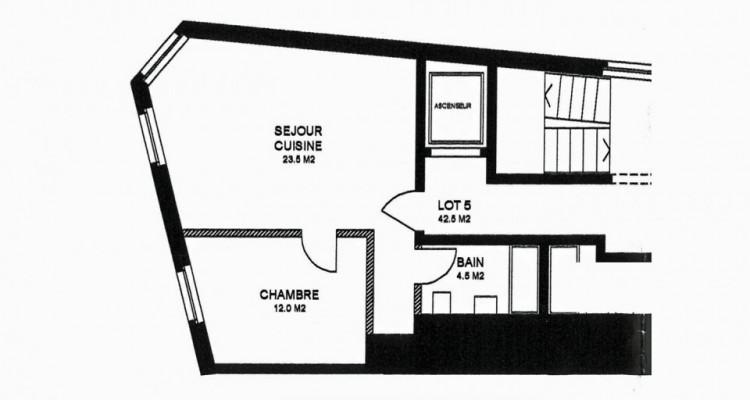 Appartement de 2,5 pièces pour investisseur. image 6