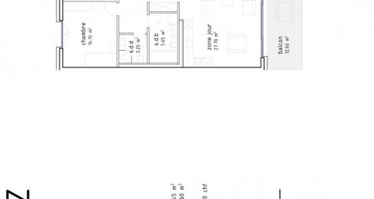FOTI IMMO - Grand 3,5 pièces avec balcon de 13 m2. image 6