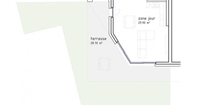 FOTI IMMO - Grand 2,5 pièces avec jardin et terrasse de 97 m2. image 5