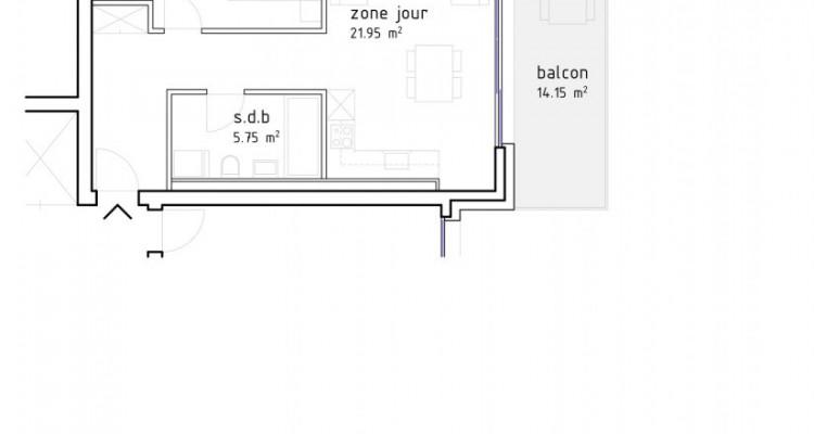 FOTI IMMO - Grand 2,5 pièces avec balcon de 14 m2. image 5