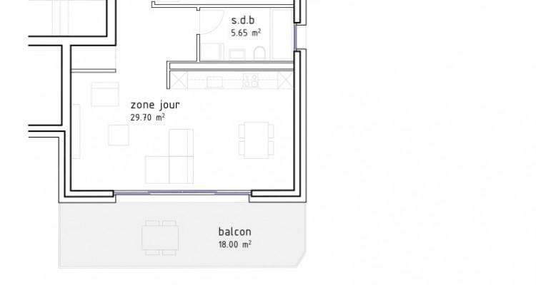 FOTI IMMO - Grand 2,5 pièces avec balcon de 18 m2. image 5