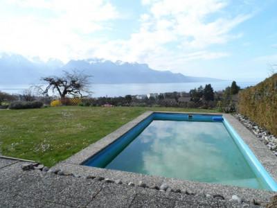 Maison mitoyenne de 6,5 pièces avec superbe vue sur le Lac Léman image 1