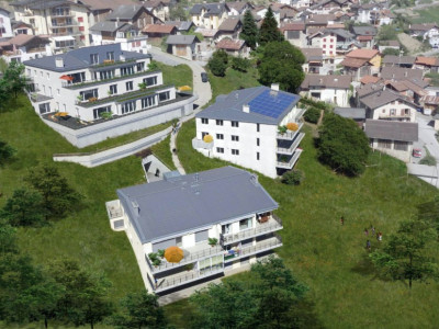FOTI IMMO - Apartement de 3,5 pièces avec balcon et vue magnifique ! image 1