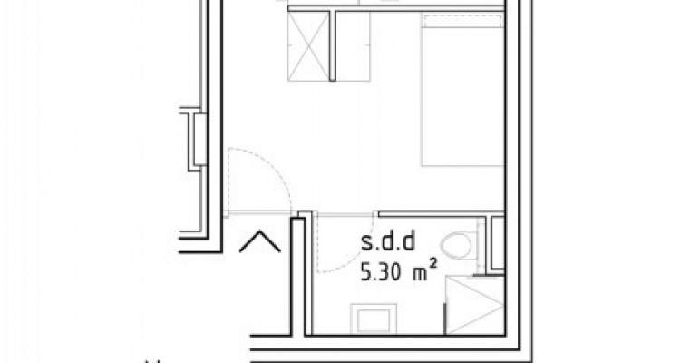 FOTI IMMO - Appartement de 1,5 pièces en attique avec loggia. image 5