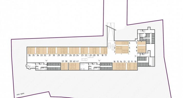 FOTI IMMO - Appartement de 1,5 pièces en attique avec loggia. image 8