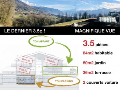 LE DERNIER 3.5p - PRET JUILLET 2020 - MAGNIFIQUE VUE - CALME image 1