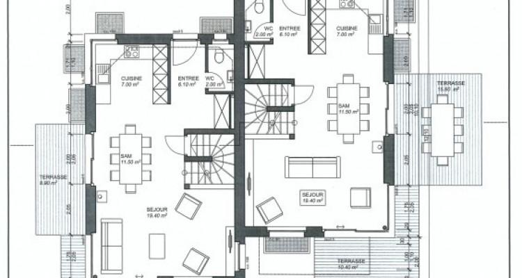C-Service vous propose une villa jumelée de 4,5 pièces à Ollon (VD) image 9