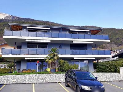 Magnifique appart 3,5 p / 2 chambres / 1 SDB / terrasse avec vue image 1
