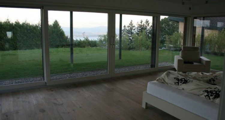 Amazing house with stunning lake view 300m2 at Arzier. image 3