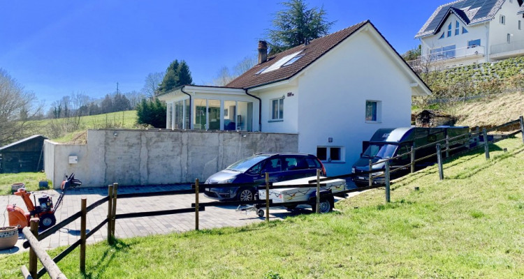 Villa individuelle de 5.5 pièces à 25 minutes de Morges avec vue magnifique sur les Alpes ! image 7
