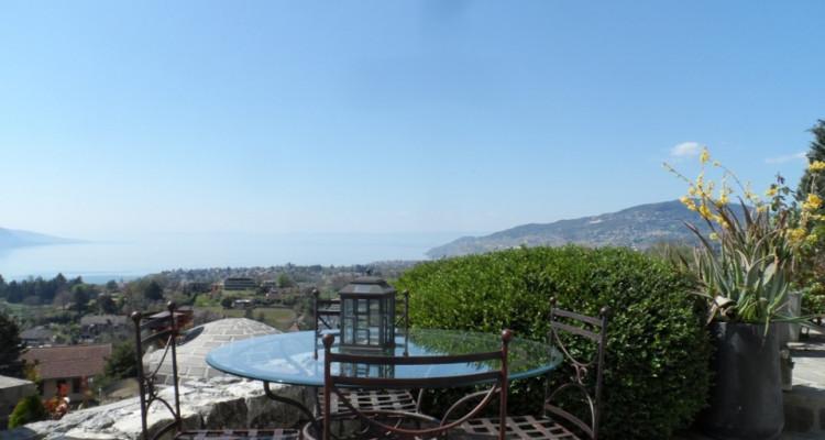 Et devant vous, le Lac Léman et une vue imprenable Sud-Ouest... image 1