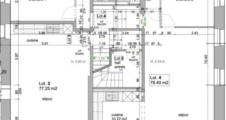 Sublime appartement rénové (lot3) - vue lac image 3