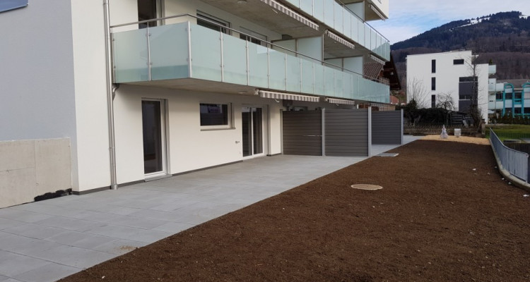 Au coeur de Châtel-St-Denis,2 appartements neufs au rez-de-chaussée  image 2