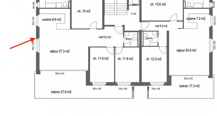 Superbe appartement sur plan de 4,5 pièces avec terrasse de 28 m2 image 6