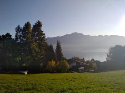 Vue panoramique avec terrasse 17 m2 pour ce magnifique 3,5 pces image 1