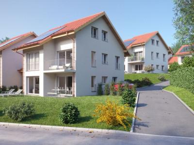 A VENDRE : Magnifiques villas jumelées à Lavey-Morcles image 1