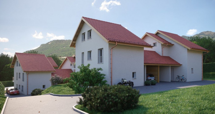 A VENDRE : Magnifiques villas jumelées à Lavey-Morcles image 2