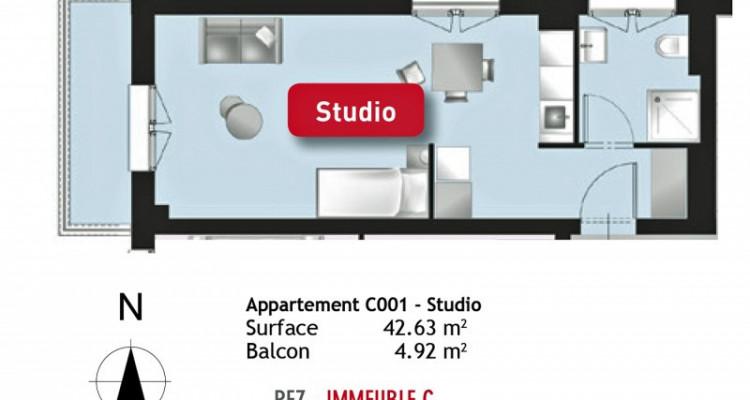 LOCATION VENTE - Studio cosy avec joli balcon. image 5