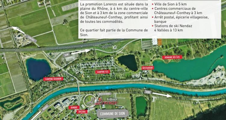 LOCATION VENTE - Appartement neuf de 2,5 pièces proche du Rhône. image 14