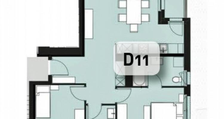 LOCATION VENTE - Appartement neuf de 3 pièces proche du Rhône. image 12