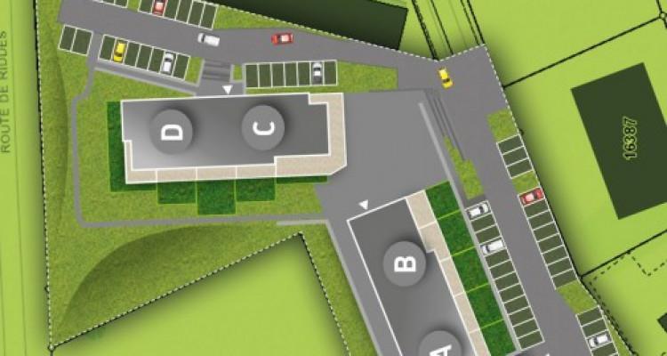 LOCATION VENTE - Appartement neuf de 3 pièces proche du Rhône. image 13