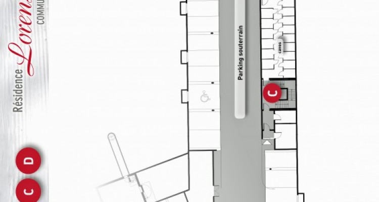 LOCATION VENTE - Appartement de 3,5 pièces avec balcons. image 10