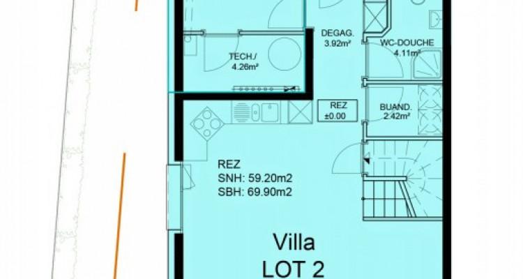 FOTI IMMO - Duplex de 5,5 pièces au rez avec jardin image 5