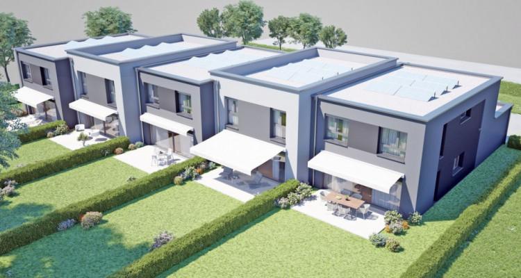 FOTI IMMO - Duplex de 5,5 pièces au rez avec jardin. image 3