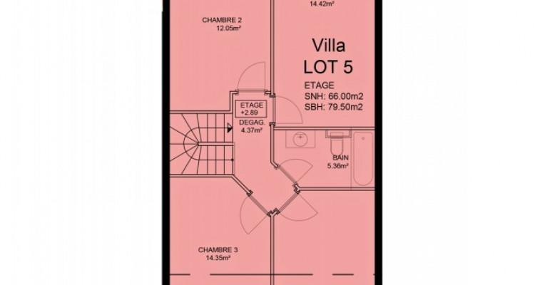 FOTI IMMO - Duplex de 5,5 pièces au rez avec jardin. image 6