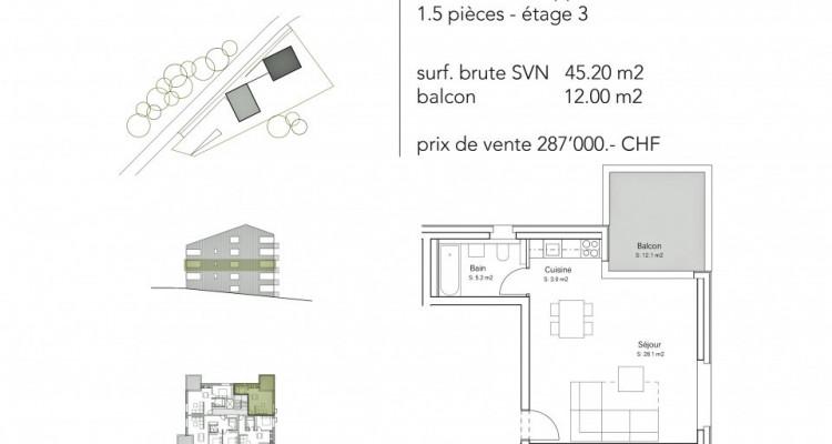 FOTI IMMO - Appartement de 1,5 pièce avec balcon. image 5