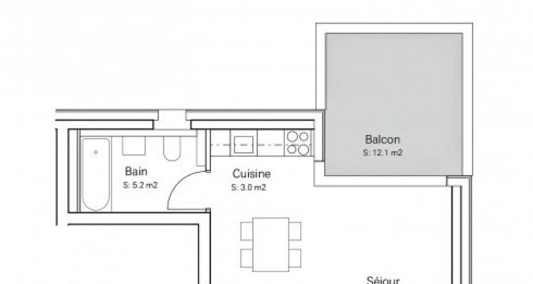 FOTI IMMO - Appartement de 1,5 pièce avec balcon. image 6