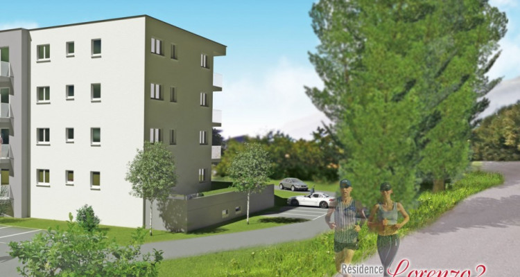 LOCATION VENTE - Appartement de 3,5 pièces avec balcon. image 3