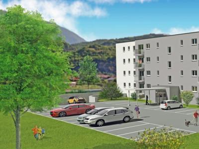 LOCATION VENTE - Appartement de 2,5 pièces avec balcon. image 1