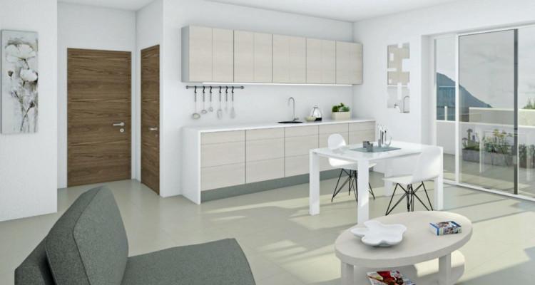 LOCATION VENTE - Appartement de 3,5 pièces avec balcon. image 2