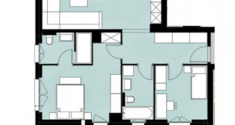 LOCATION VENTE - Appartement de 3,5 pièces avec balcon. image 5