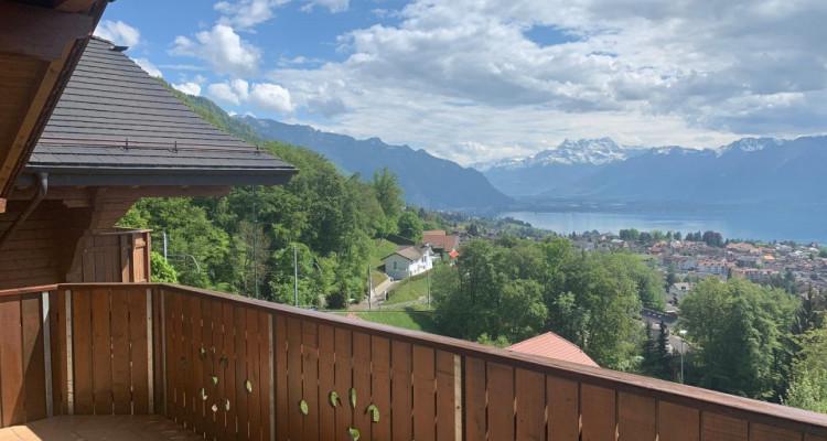 Magnifique 4,5p/ Vue imprenable sur le lac - Terrasse - Parking inclus image 1