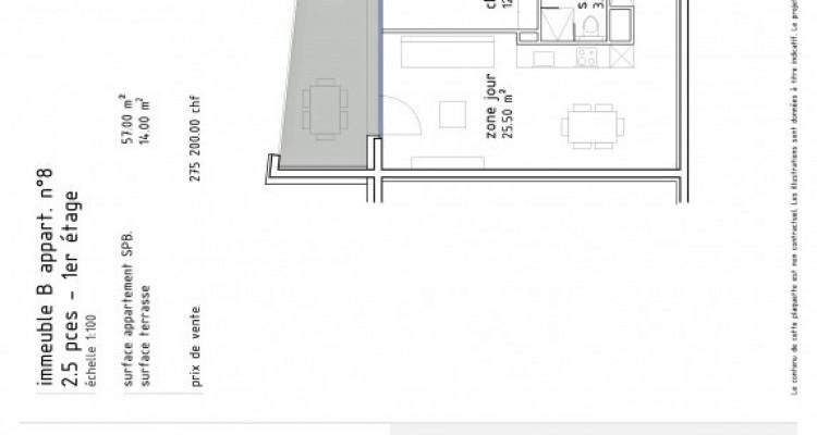FOTI IMMO - Appartement de 2,5 pièces avec terrasse. image 5