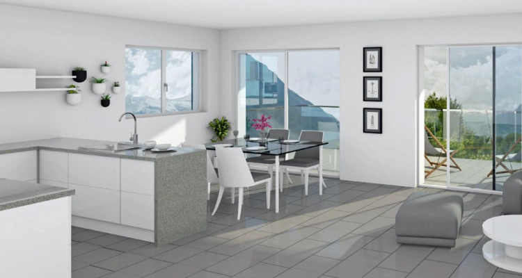 FOTI IMMO - Appartement de 2,5 pièces avec terrasse/jardin. image 2