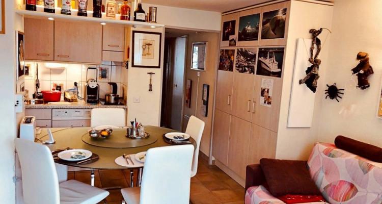 Magnifique appart meublé 2,5 p / 1 chambre / 1 SDB / balcon avec vue image 2