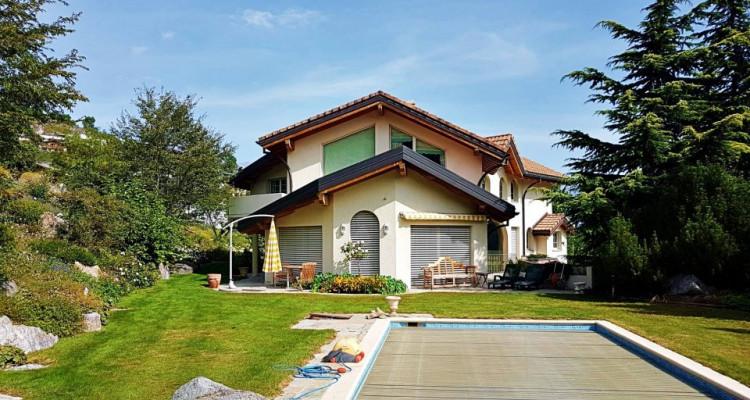 Superbe villa individuelle 8 p / 5 chambres / 4 SDB / piscine / vue image 1