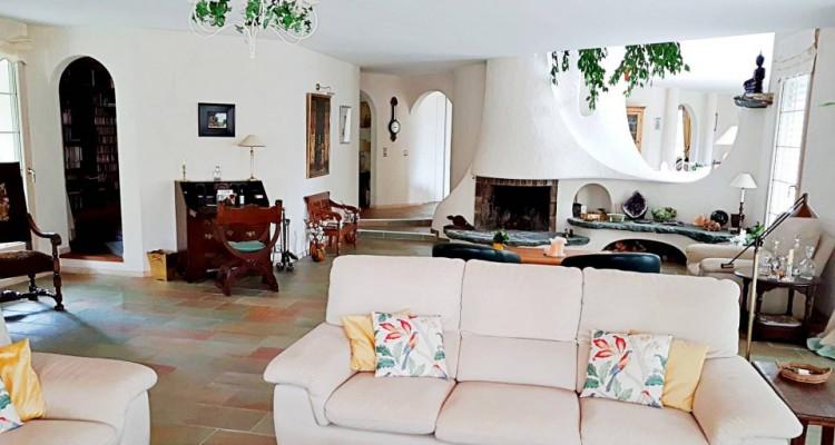 Superbe villa individuelle 8 p / 5 chambres / 4 SDB / piscine / vue image 3